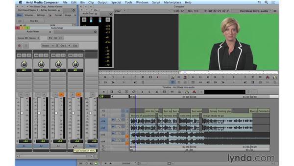 Adding music and mixing audio: Avid Media Composer 8 Essential Training