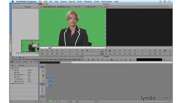 Beginning the edit: Prepping and laying the foundation: Avid Media Composer 8 Essential Training