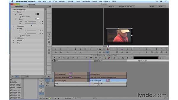 Building basic composites using vertical effects: Avid Media Composer 8 Essential Training