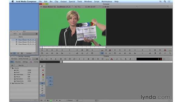 Prepping the multicam edit: Avid Media Composer 8 Essential Training