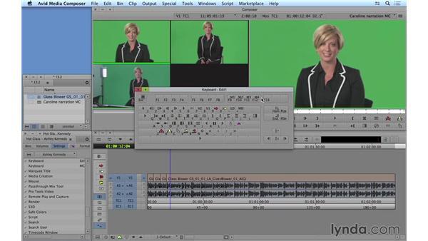 Performing the multicam edit: Avid Media Composer 8 Essential Training