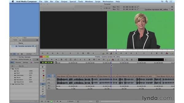 Refining the multicam edit: Avid Media Composer 8 Essential Training