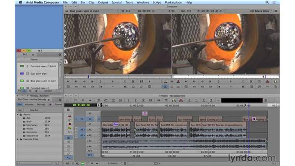 Deleting material via the bin: Avid Media Composer 8 Essential Training