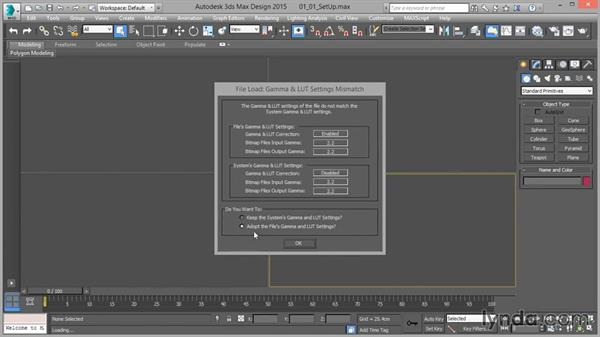 Gamma handling: Up and Running with mental ray in 3ds Max