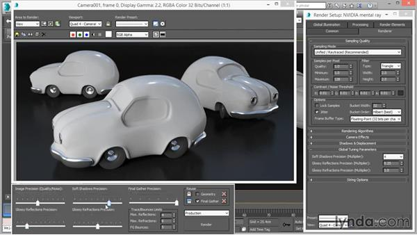 VFB and global controls: Up and Running with mental ray in 3ds Max