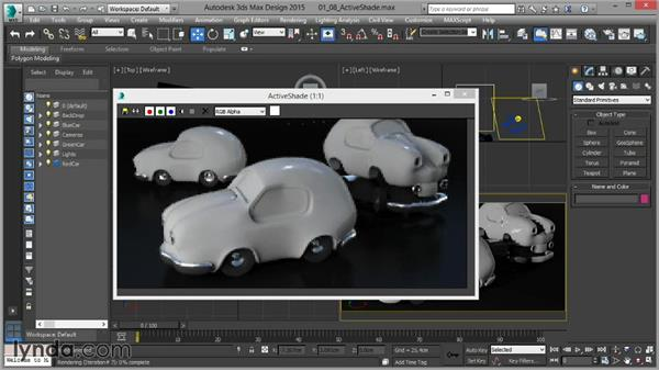 The mental ray ActiveShade mode: Up and Running with mental ray in 3ds Max