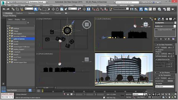 Controlling the mental ray sun: Up and Running with mental ray in 3ds Max