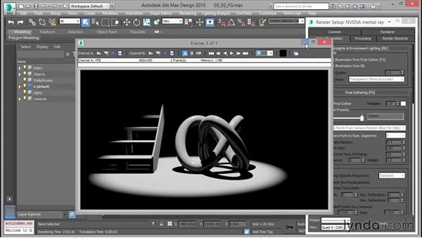Understanding Final Gather: Up and Running with mental ray in 3ds Max