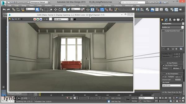 Using photons: Part one: Up and Running with mental ray in 3ds Max