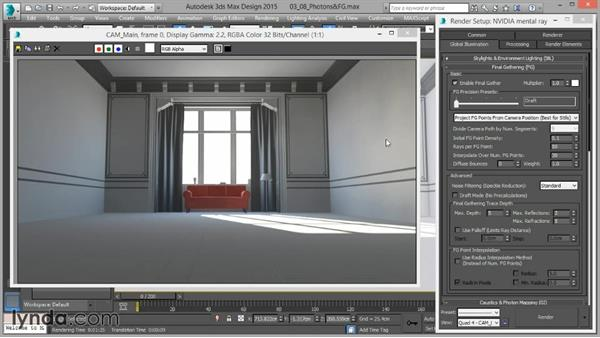 Photons and Final Gather combined: Up and Running with mental ray in 3ds Max