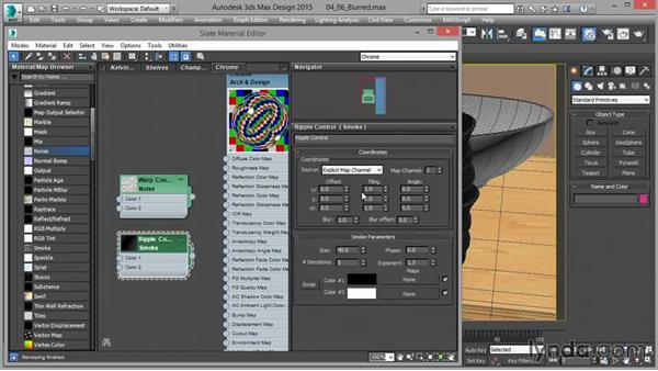 Arch & Design: Blurring reflections: Up and Running with mental ray in 3ds Max