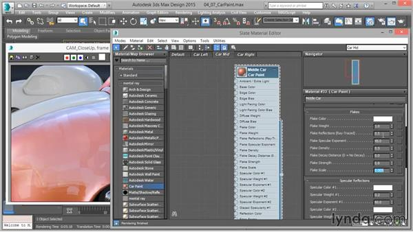 The Car Paint shader: Part one: Up and Running with mental ray in 3ds Max