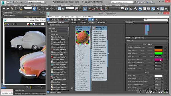 The Car Paint shader: Part two: Up and Running with mental ray in 3ds Max