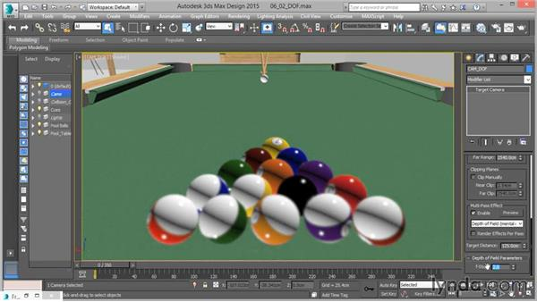 Depth of field: Up and Running with mental ray in 3ds Max