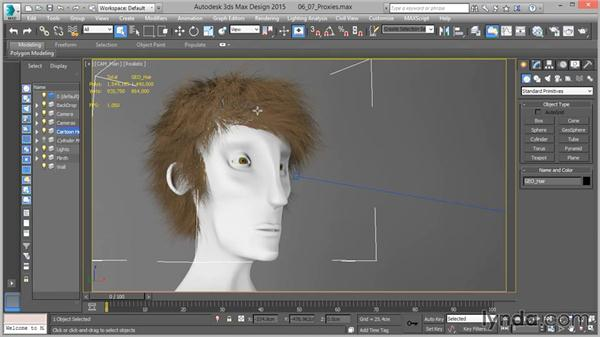 Proxies: Up and Running with mental ray in 3ds Max