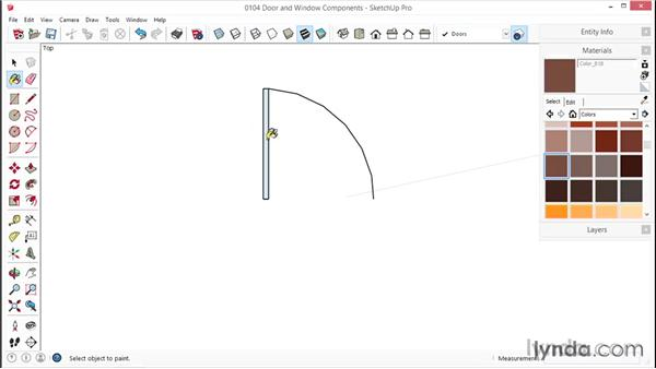 Creating 2D Door Components