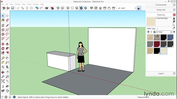Creating a custom collection: SketchUp for Interior Design