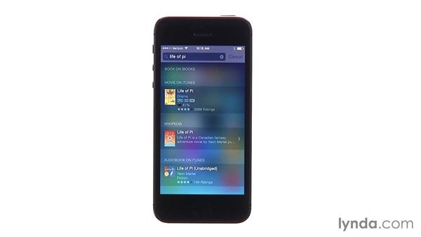 Using Siri and Spotlight for quick searches and commands: iOS 8 New Features