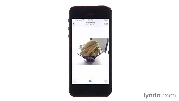 Editing photos and organizing the photo library: iOS 8 New Features
