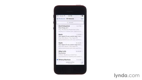 Working with Mail more smoothly: iOS 8 New Features