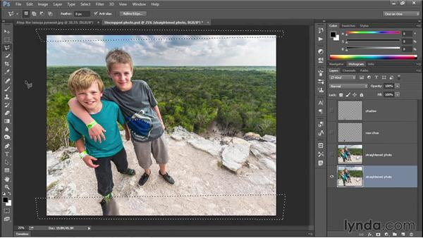 Content-Aware Fill and Color Adaptation (CC 2014): Photoshop CC 2013 One-on-One: Intermediate
