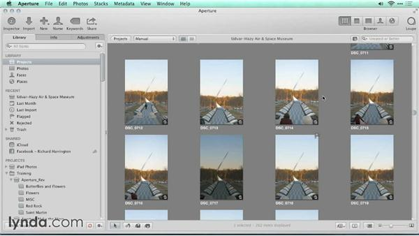 Are you using a referenced or managed library?: Migrating from Aperture to Lightroom
