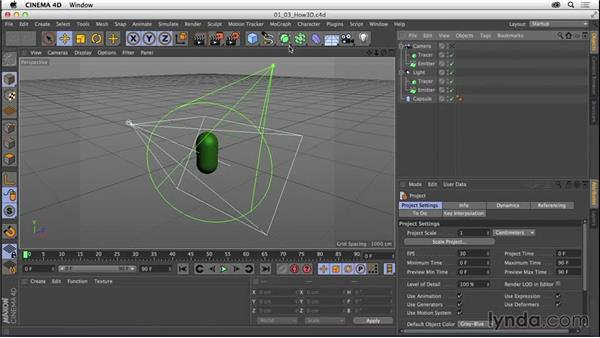 Understanding how 3D software is designed to function: CINEMA 4D R16 Essential Training