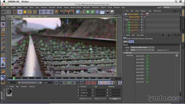 Defining the reconstruction: CINEMA 4D R16 Essential Training