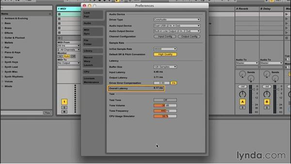 Optimizing Ableton Live for recording: Songwriting in Ableton Live