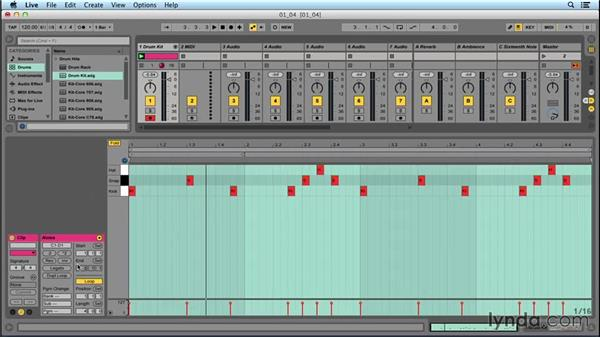 Making a demo beat: Songwriting in Ableton Live