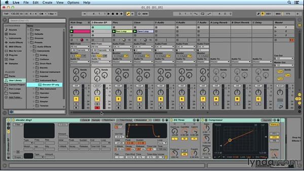 Recording software instruments: Songwriting in Ableton Live