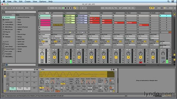 Moving from Session to Arrangement: Songwriting in Ableton Live