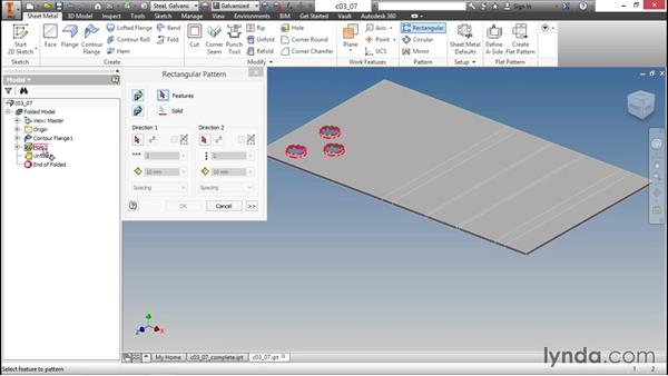 Leveraging Unfold and Refold: Sheet Metal Design with Inventor