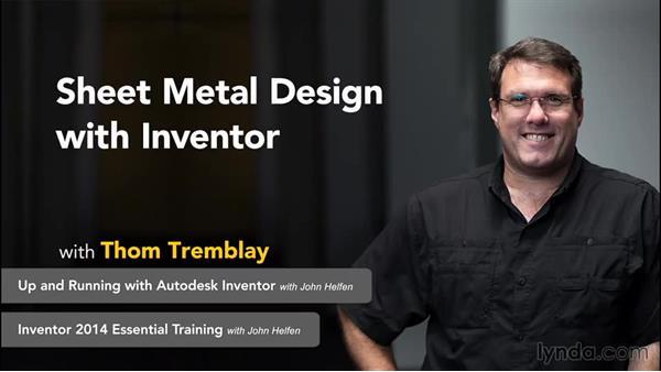 Next steps: Sheet Metal Design with Inventor