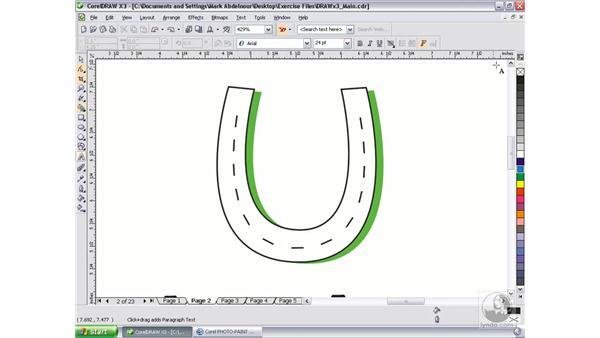 What's new in CorelDRAW X3: CorelDRAW Graphics Suite X3 Essential Training