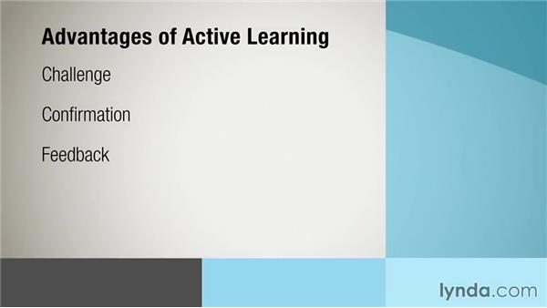 Comparing active versus passive learning: Instructional Design Essentials: Adult Learners