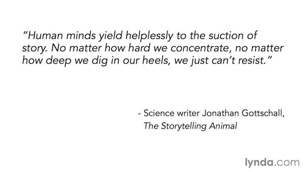 What stories are, and why we respond to them: Storytelling for Designers