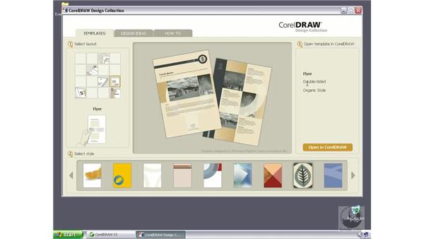 Working with the Corel Design Collection: CorelDRAW Graphics Suite X3 Essential Training