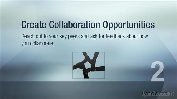Create collaboration opportunities: Executive Leadership