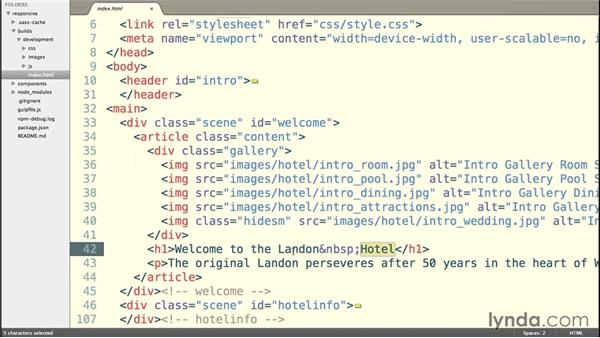 Examining your HTML: Building a Responsive Single-Page Design with Sass