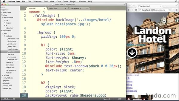 Preparing your header: Building a Responsive Single-Page Design with Sass
