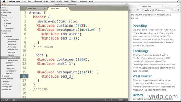 Padding elements with Susy: Building a Responsive Single-Page Design with Sass