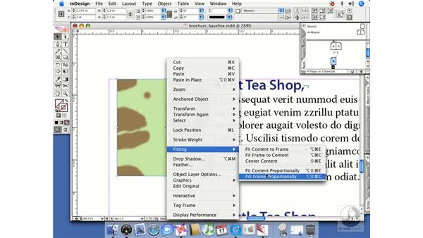Anchored objects: InDesign CS2 Beyond the Basics