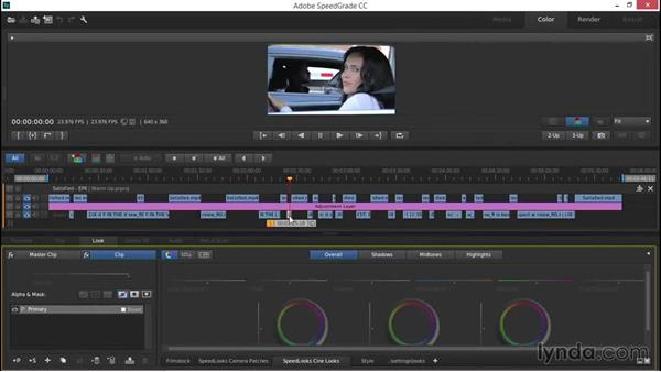 Warming up shots and cooling them down: EPK Editing Workflows 03: Color Correction, Visual Effects, and Finishing