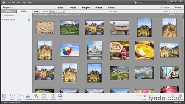 Using the exercise files: Photoshop Elements 13 Essential Training