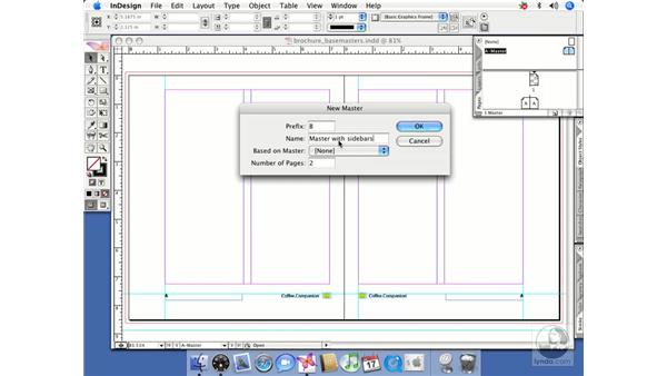 Based-on master pages: InDesign CS2 Beyond the Basics