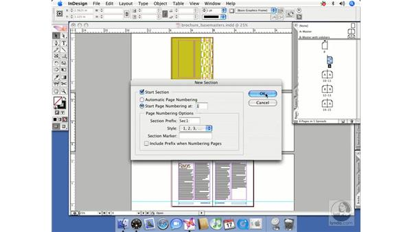 Creating an initial single spread: InDesign CS2 Beyond the Basics