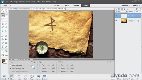 Introducing layers: Photoshop Elements 13 Essential Training