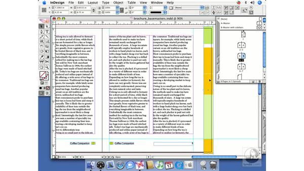 Working with master page objects: InDesign CS2 Beyond the Basics