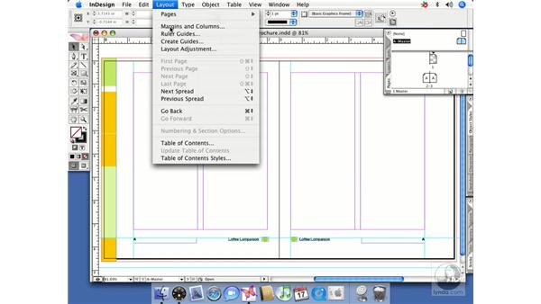 Changing margins and columns: InDesign CS2 Beyond the Basics